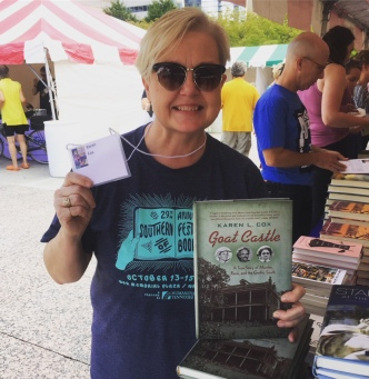 Southern Festival of Books, Nashville, TN